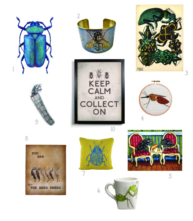 Entomology Holiday Gifts 2012